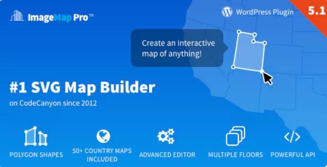 用于WordPress的Image Map Pro