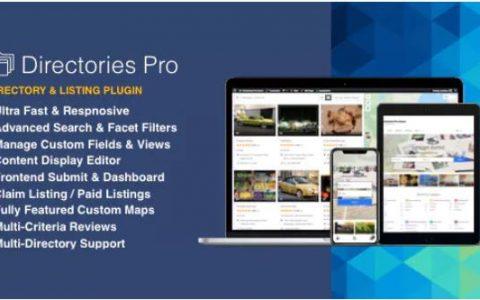下载 -  WordPress v1.2.52的Directories Pro插件