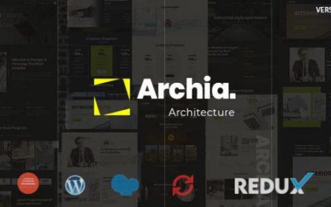 Archia v1.0.1  - 建築與室內WordPress主題