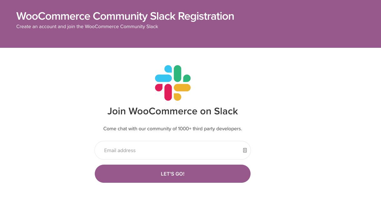 Slack上的WooCommerce社区