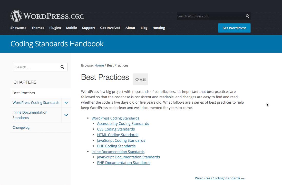 WordPress编码标准手册