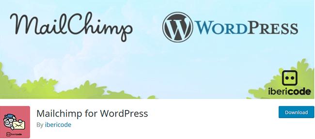 用于wordpress的mailchimp