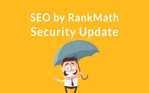 RankMath安全更新的WordPress插件SEO