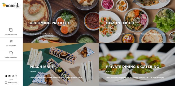 WordPress的餐厅,网站