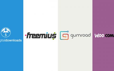 EDD vs Freemius vs Gumroad vs WooCommerce  - 哪個是銷售WordPress插件和主題的最佳選擇?