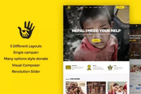 CharityHeart v1.3  - 慈善响应WordPress主题