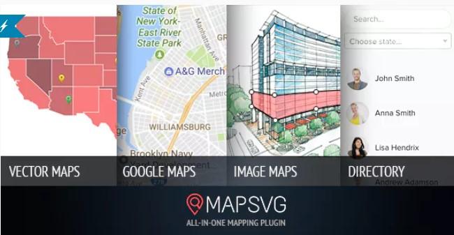 MapSVG WordPress插件