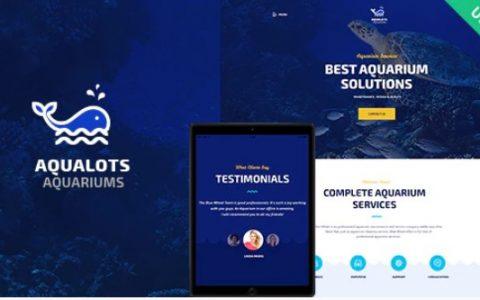 Aqualots v1.1.0  - 水族馆服务WordPress主题