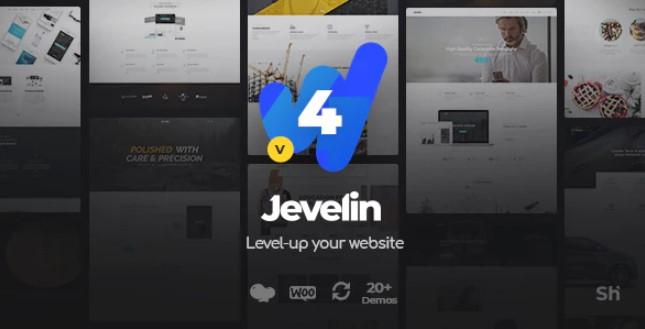 Jevelin多用途响应WordPress主题