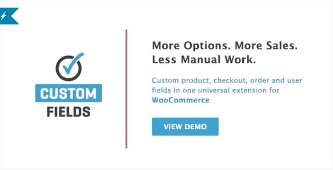 WooCommerce自定义字段