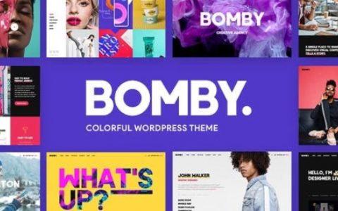 Bomby v1.4  - 创意多用途WordPress主题