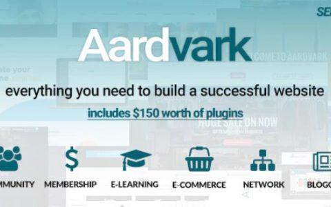 Aardvark v4.4  - 社区,会员,BuddyPress主题