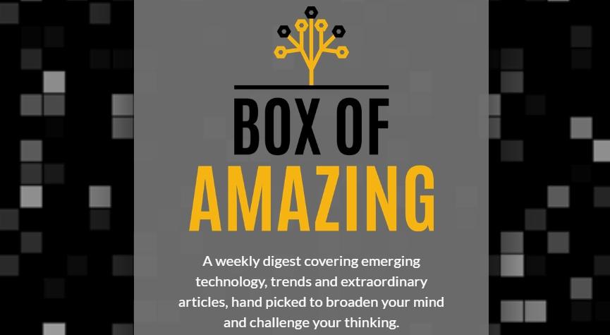 一盒惊人的科技通讯