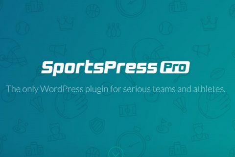 SportPress Pro v2.6.19  - 严肃团队的WordPress插件