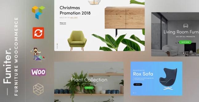 Funiter  -  WooCommerce的优雅家具店