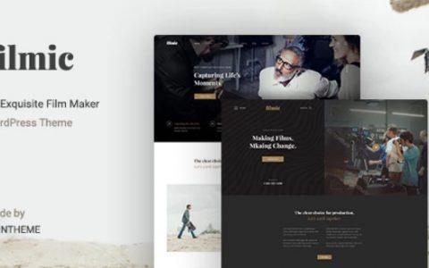 Filmic v2.3  - 电影工作室和电影制作人WordPress主题