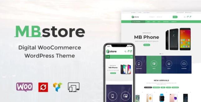 MBStore  - 数字WooCommerce WordPress主题