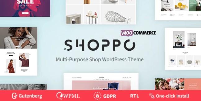 Shoppo  - 多用途WooCommerce商店主题