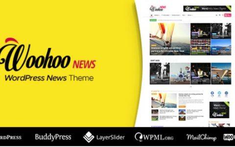 Woohoo v2.3.1  -  WordPress新闻和杂志多概念主题