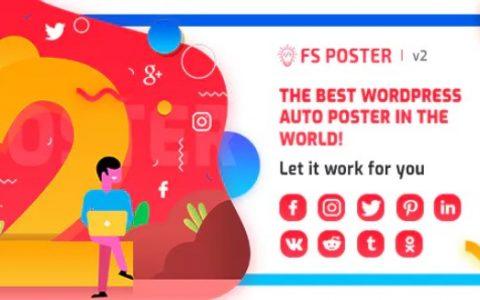 FS海报v2.8.21  -  WordPress自动海报和调度程序插件