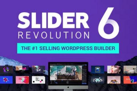Slider Revolution v6.0.6  - 响应式WordPress插件