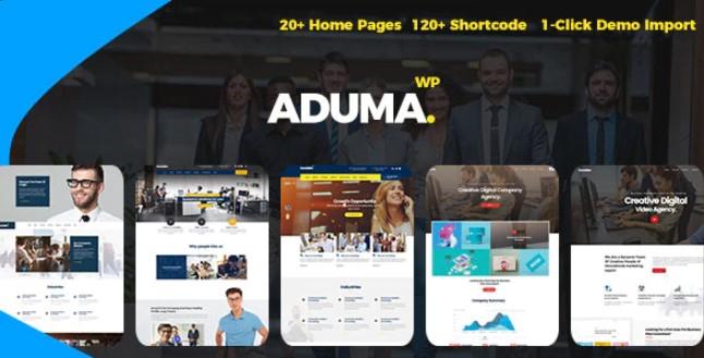 Aduma  - 咨询,财务,商业WordPress主题