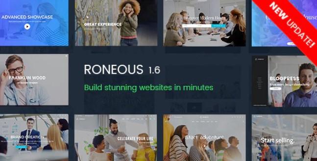 Roneous  - 创意多用途WordPress主题