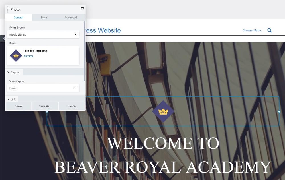 Beaver Builder模块设置