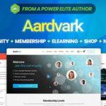 Aardvark  - 社区,会员,BuddyPress主题