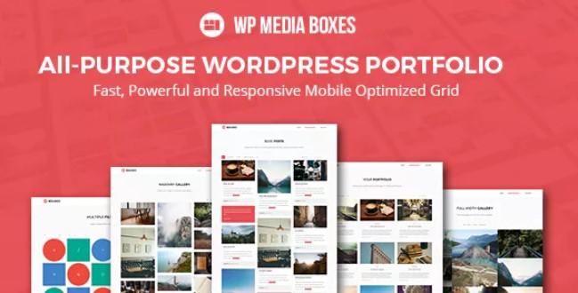 WP Media Boxes产品组合