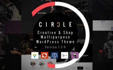 CIRCLE v1.3.9  - 创意和商店多用途WordPress主题