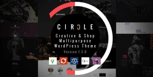 CIRCLE  - 创意和商店多用途WordPress主题