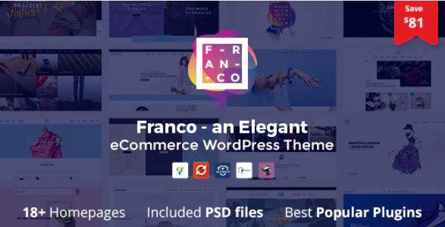 Franco  - 优雅的WooCommerce WordPress主题
