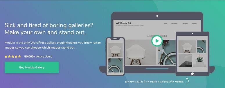 Modula Gallery插件