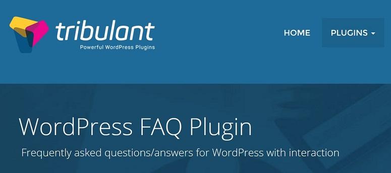 FAQ插件,Tribulant常见问题解答插件