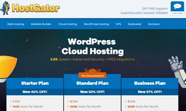 HostGator WordPress云托管审查