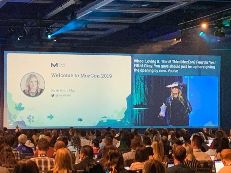 MozCon 2019:从一天开始的顶级外卖