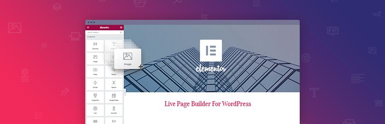 Elementor网站构建器