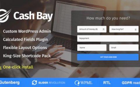 Cash Bay v1.0.4  - 贷款和信贷资金WordPress主题