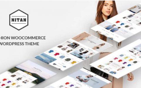 Nitan v2.4  - 時尚WooCommerce WordPress主題