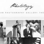 Photology  - 清洁摄影画廊主题