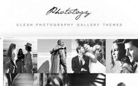 Photology v1.1.0  - 清洁摄影画廊WordPress主题
