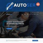 Autoser  - 汽车修理和自动服务WordPress主题