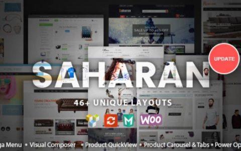 SAHARAN v1.5.3  - 响应式WordPress主题