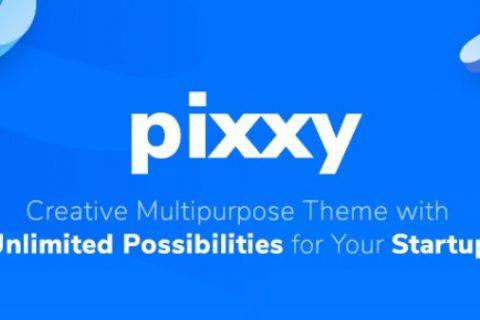 Pixxy v1.0.6  - 软件启动WordPress主题