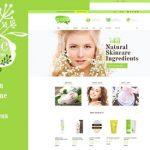 有机美容店和天然化妆品WordPress主题