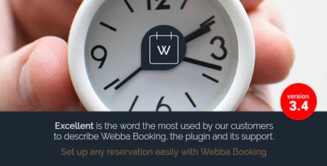 Webba预订 -  WordPress预约和预订插件