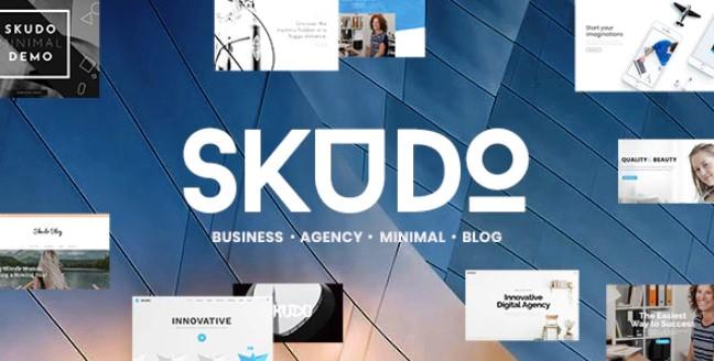 Skudo  - 响应式多用途WordPress主题