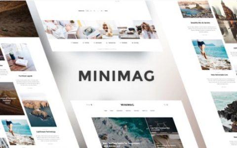 MiniMag v1.3.5  - 新闻和杂志WordPress博客主题