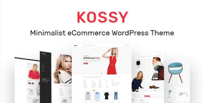 Kossy  - 极简主义电子商务WordPress主题